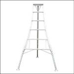 Workware HPM180 6ft Adjustable Legs Tripod Ladder