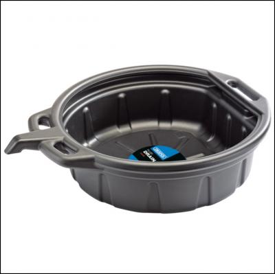 Draper 23258 Fluid Drain Pan 16L Black