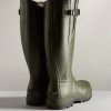 Hunter Unisex Balmoral Classic Side Adjustable Wellington Boots Dark Olive 3
