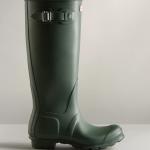 Hunter Women's Original Tall Wellington Boots Green 1