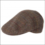 Barbour Crieff Check Cap Olive-Blue-Red