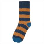 Barbour Houghton Striped Socks Midnight 1