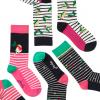 Joules Christmas Bamboo Socks 3 Pack Holly Socks 3