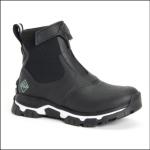 Muck Boot Women's Apex Zip Short Boots Black