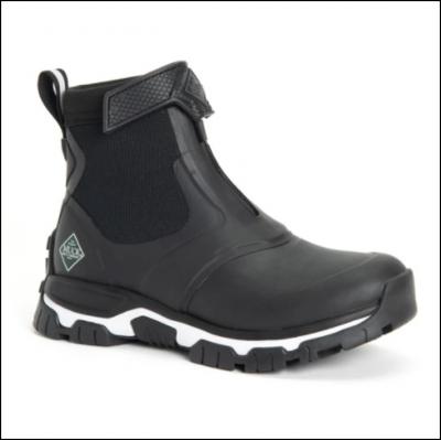 Muck Boot Women's Apex Zip Short Boots Black 1