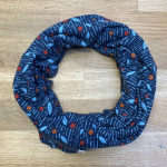 Seasalt Organic Cotton Handyband Leaf Print-Granite 1