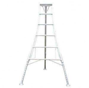 Workware HPM300 10ft Adjustable Legs Tripod Ladder 1