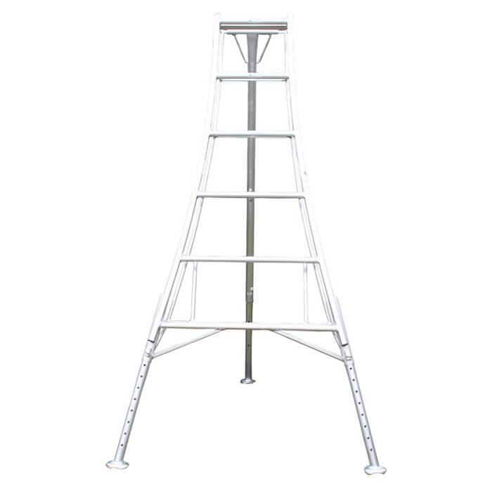 Workware HPM360 12ft Adjustable Legs Tripod Ladder 1