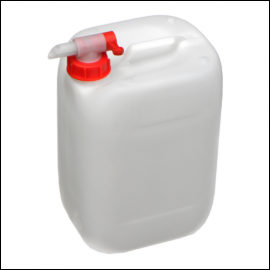 25L Plastic Water Container with Airflow Tap
