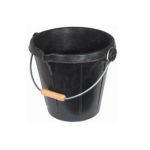 3 Gallon Black Spout Bucket