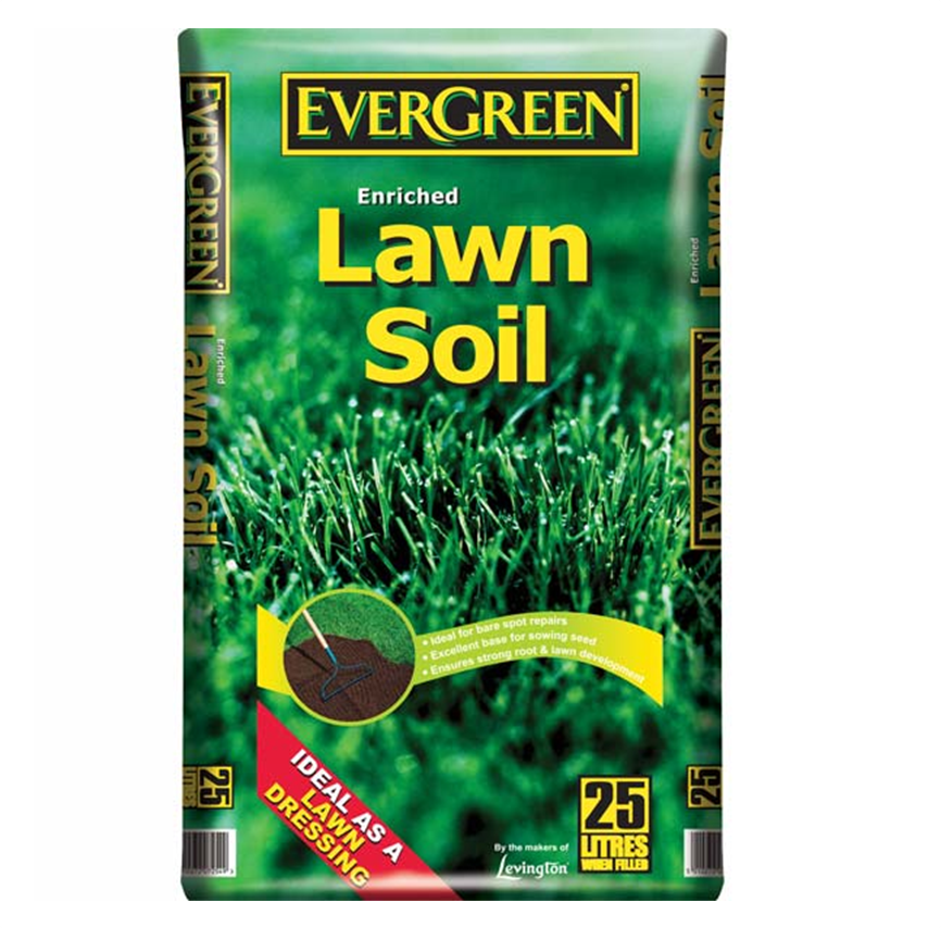 Evergreen 25l lawn soil ernest doe shop for Lawn topsoil