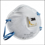 3M 8822 P2 Disposable Valved Respirators 1