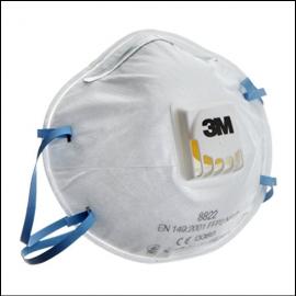 3M 8822 P2 Disposable Valved Respirators 1