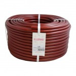London And Lancs - Ellbraid Contractor's 75m Hose - Red