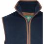 AP Aylsham M Dark Navy Fleece Waistcoat 2