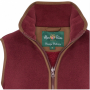 AP Aylsham Ladies Bordeaux Fleece Waistcoat 2