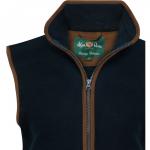 AP Aylsham Ladies Dark Navy Fleece Waistcoat 2