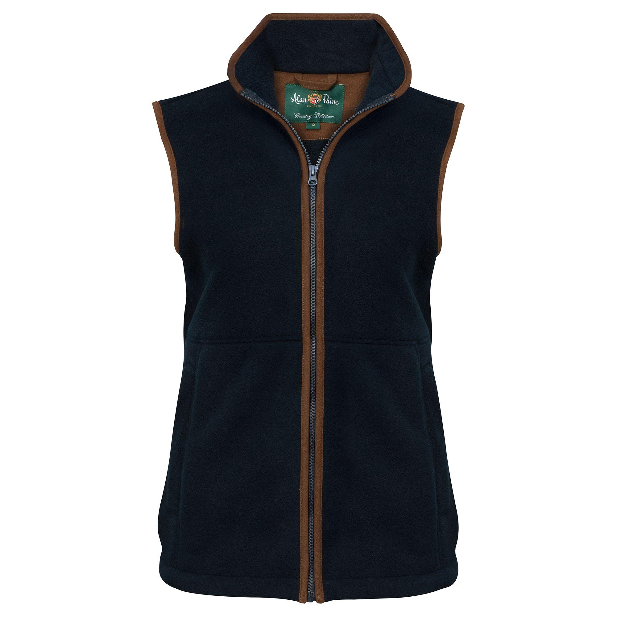 AP Aylsham Ladies Dark Navy Fleece Waistcoat 1