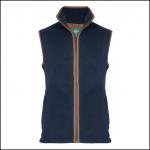 AP Aylsham M Dark Navy Fleece Waistcoat 1