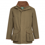 Alan Paine Berwick Mens Olive Shooting Coat 1