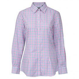 AP Bromford Ladies Blue-Pink Check Country Shirt