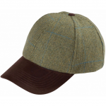 Alan Paine Combrook Mens Lagoon Tweed Baseball Cap 1