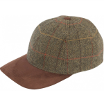 Alan Paine Combrook Mens Peat Tweed Baseball Cap 1