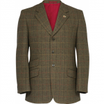 Alan Paine Combrook Mens Peat Tweed Blazer 1