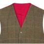 AP Compton M Peat Tweed Classic Fit Waistcoat 2