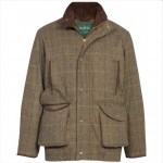 Alan Paine Combrook Mens Peat Tweed Shooting Field Coat 1