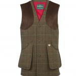Alan Paine Combrook Mens Peat Tweed Shooting Waistcoat 1