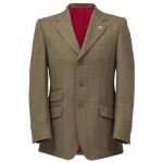 Alan Paine Combrook Mens Sage Tweed Blazer 1