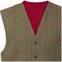 AP Compton M Sage Tweed Classic Fit Waistcoat 4