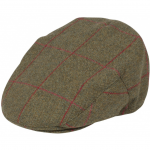 Alan Paine Combrook Mens Sage Tweed Flat Cap 1
