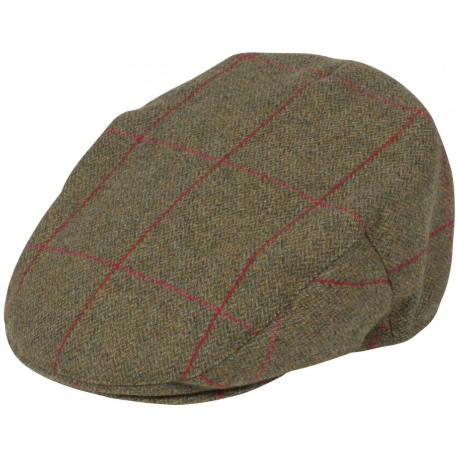 16d88188e96f Alan Paine Combrook Mens Sage Tweed Flat Cap 1