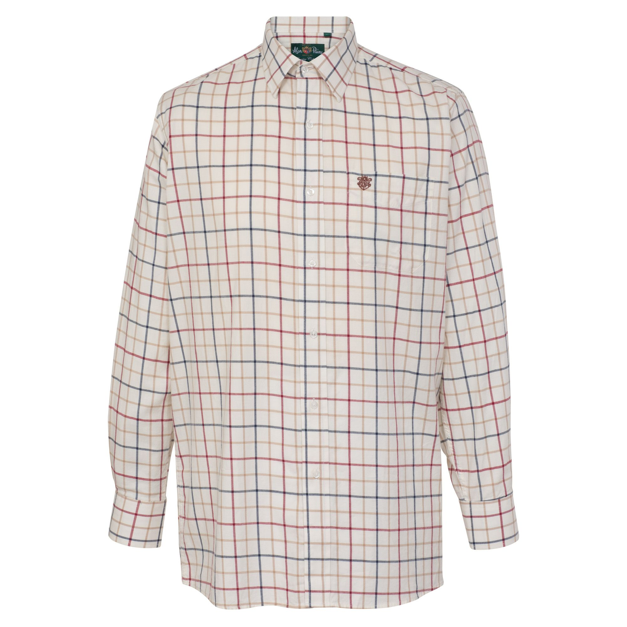 AP Ilkley Ilkley M Red Country Check Shirt