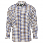 AP Ilkley M Brown Country Check Shirt