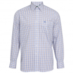 AP Ilkley M Blue-Beige Country Check Shirt