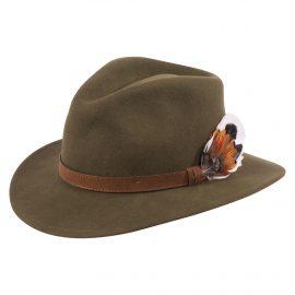 AP Surrey Unisex Olive Felt Hat