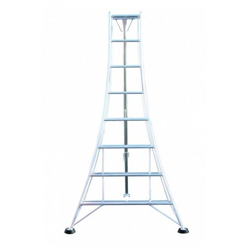 Workware 8ft Aluminium Adjustable Tripod Ladder