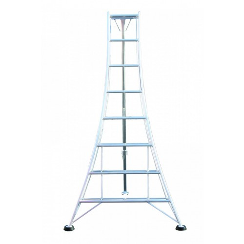 Workware GMF300 10ft Aluminium Adjustable Tripod Ladder