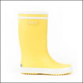 Aigle Lolly Pop Children's Unisex Wellington Boots Jaune 1