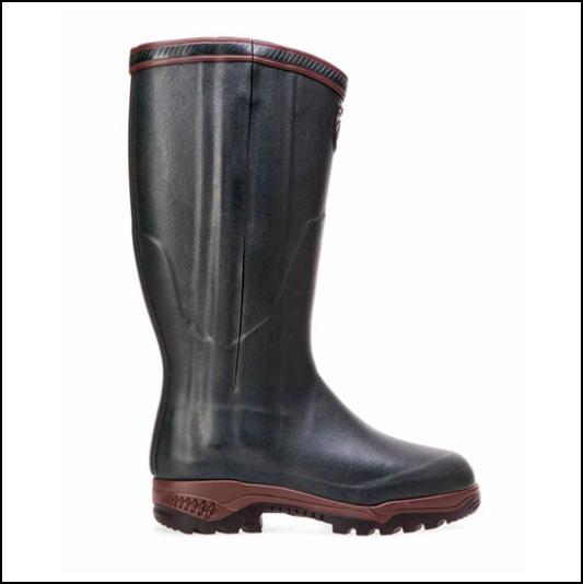 Aigle Parcours 2 Iso Open Wellington Boots Bronze 1