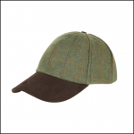 Alan Paine Combrook Men's Lovat Tweed Baseball Cap 1