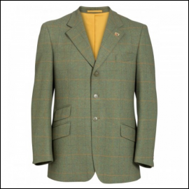 Alan Paine Combrook Men's Lovat Tweed Blazer 1