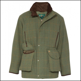 Alan Paine Combrook Men's Lovat Tweed Shooting Coat 1