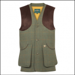 Alan Paine Combrook Men's Lovat Tweed Shooting Waistcoat 1