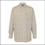 Alan Paine Ilkley Men's Olive Wide Check Country Shirt