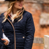 Alan Paine Ladies Felwell Navy Quilted Jacket 2