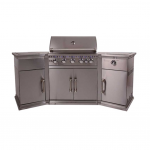 Lifestyle Bahama Stainless Steel BBQ